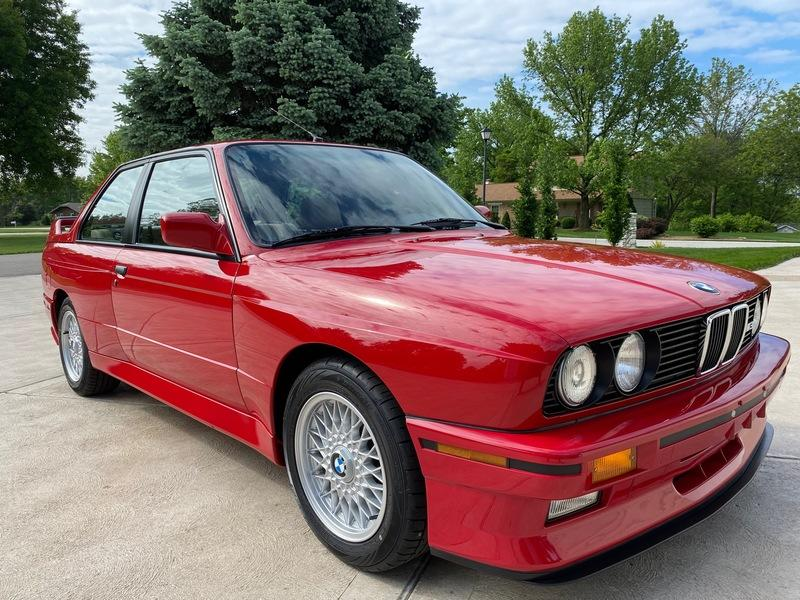 Car For Sale: Extremely Clean, 8k-Mile 1988 BMW M3