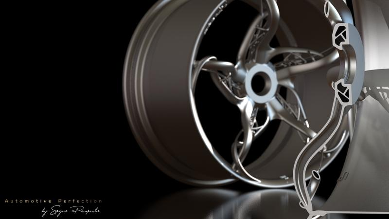 Check Out These 3D Printed Wheels On A 3,000-Horsepower Greek 'Ultra Car'
