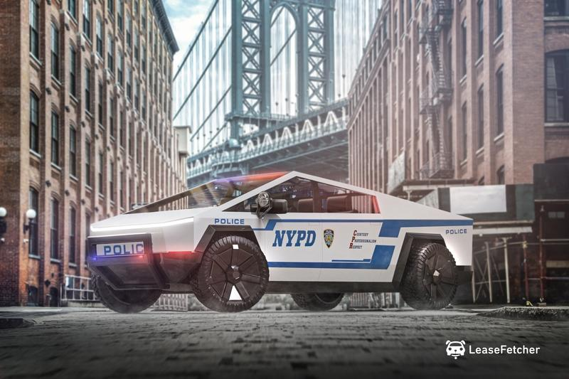 Check Out These Renderings of The Tesla Cybertruck as Various Public Service Vehicles - image 916386