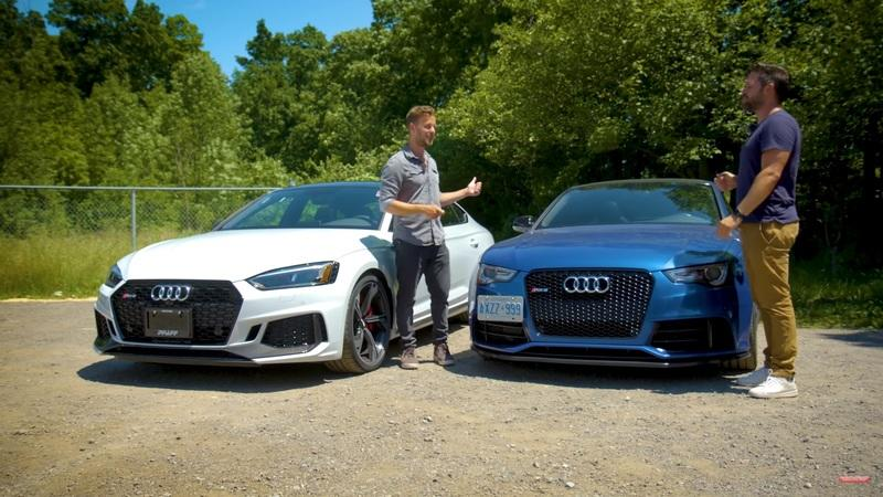 Here's How a 2013 Audi RS5 Stacks Up Against a 2020 Audi RS5 Sportback