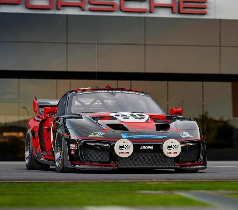 Here's One Good Way to Dress Up the New Porsche 935 - image 924921