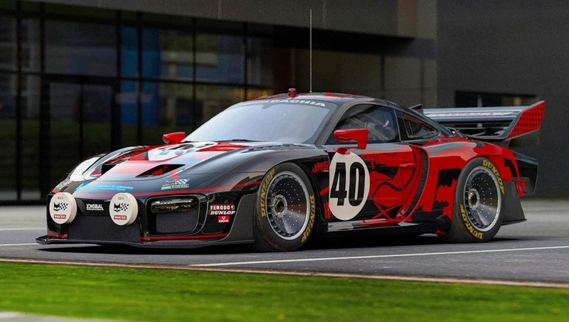 Here's One Good Way to Dress Up the New Porsche 935