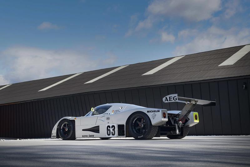 Hold Onto Your Jaws: A Sauber Mercedes C9 Has Hit The Market