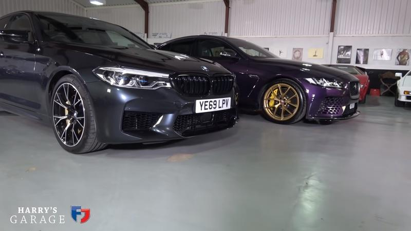 Is the 2020 BMW M5 Competition Really Better Than the Jaguar Project 8?