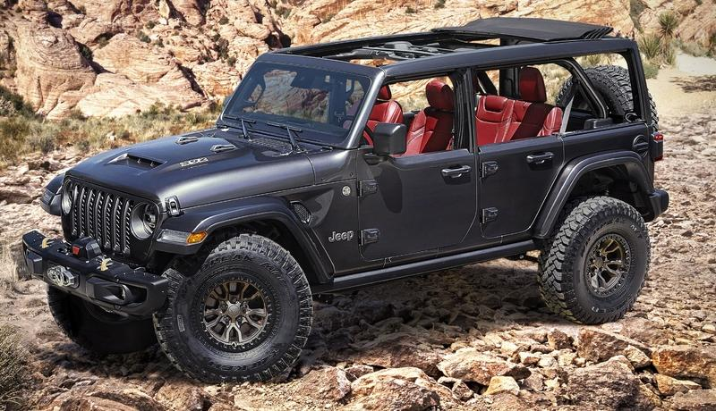 Jeep Unveils Wrangler Rubicon 392 Concept Just So It Can Ruin Ford's Party Tonight