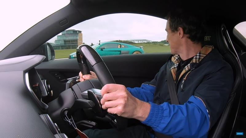 Kick Off Your Weekend By Watching an Audi R8 Take on an Audi TT RS-R