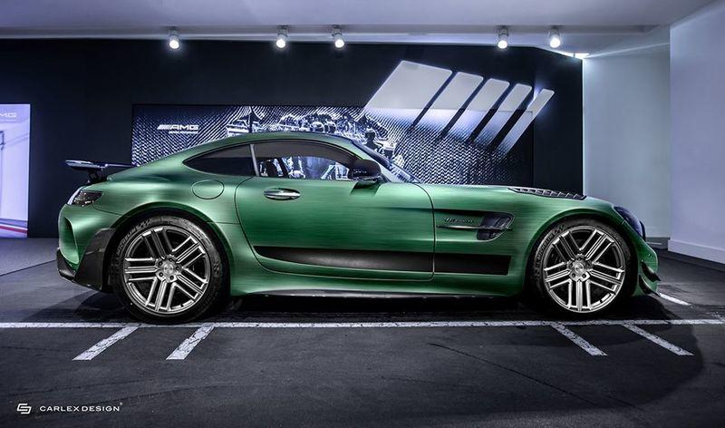 2021 Mercedes-AMG GT R PRO Tattoo Edition by Carlex Design Exterior - image 924491