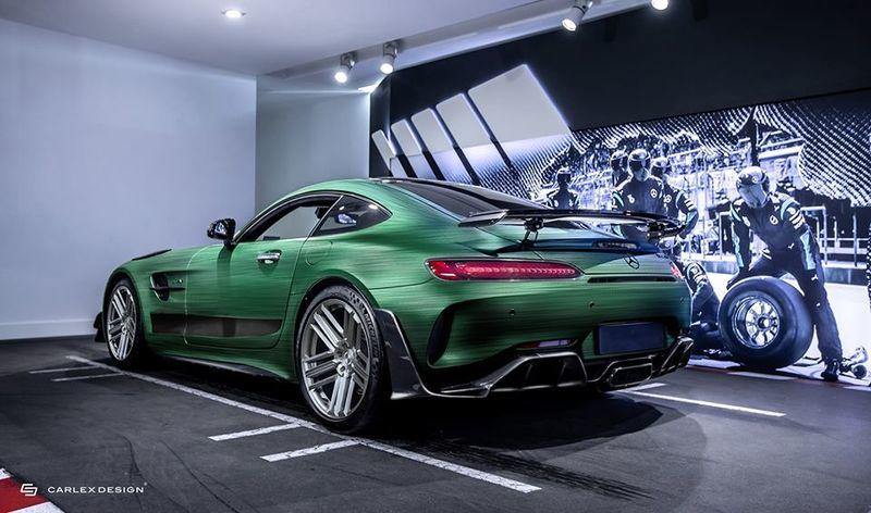2021 Mercedes-AMG GT R PRO Tattoo Edition by Carlex Design Exterior - image 924494
