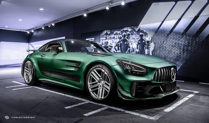 2021 Mercedes-AMG GT R PRO Tattoo Edition by Carlex Design Exterior - image 924490