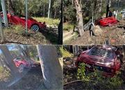 Need Reasons To Weep? Look At This Ferrari F40 That Someone Crashed - image 922014