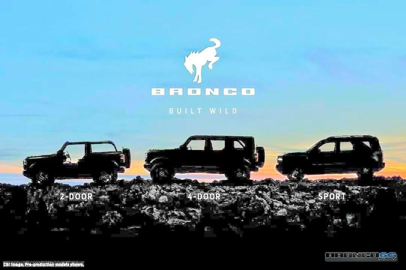 New Leaked Image Shows Us What the 2021 Ford Bronco Looks Like With Its Top Off