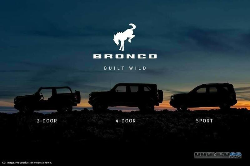 New Leaked Image Shows Us What the 2021 Ford Bronco Looks Like With Its Top Off - image 917389