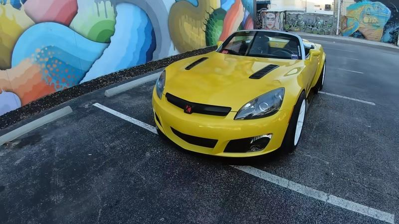 Now You've Seen it All - A Saturn Sky With a 2JZ Engine Swap