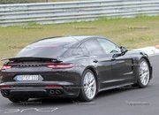 Porsche Panamera Turbo Facelift Goes For Nurburgring Record - image 924744
