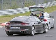 Porsche Panamera Turbo Facelift Goes For Nurburgring Record - image 924746