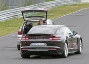 Porsche Panamera Turbo Facelift Goes For Nurburgring Record - image 924747