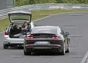 Porsche Panamera Turbo Facelift Goes For Nurburgring Record - image 924749