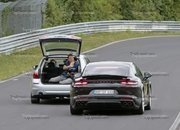 Porsche Panamera Turbo Facelift Goes For Nurburgring Record - image 924750