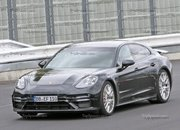 Porsche Panamera Turbo Facelift Goes For Nurburgring Record - image 924734