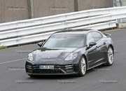Porsche Panamera Turbo Facelift Goes For Nurburgring Record - image 924735