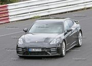 Porsche Panamera Turbo Facelift Goes For Nurburgring Record - image 924736