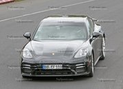Porsche Panamera Turbo Facelift Goes For Nurburgring Record - image 924737