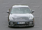 Porsche Panamera Turbo Facelift Goes For Nurburgring Record - image 924738