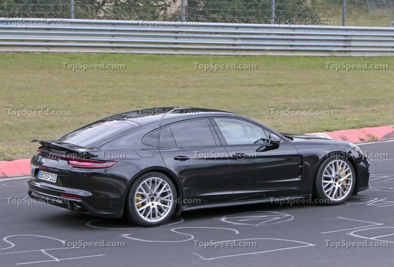 Porsche Panamera Turbo Facelift Goes For Nurburgring Record