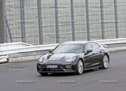 Porsche Panamera Turbo Facelift Goes For Nurburgring Record - image 924733