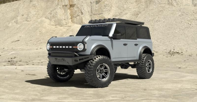 Sad the 2021 Ford Bronco Isn't Offered With a V-8? PaxPower Has Your Back! - image 922105