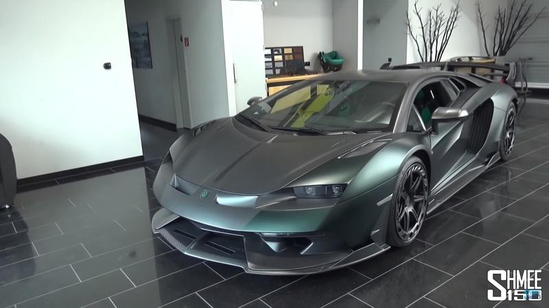 Shmee Wants to Give You the Low-Down on the Lamborghini Aventador-based Mansory Cabrera
