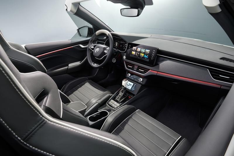 Skoda Slavia Concept - One Affordable Roadster We'd Love to See Come to Life Interior - image 922663