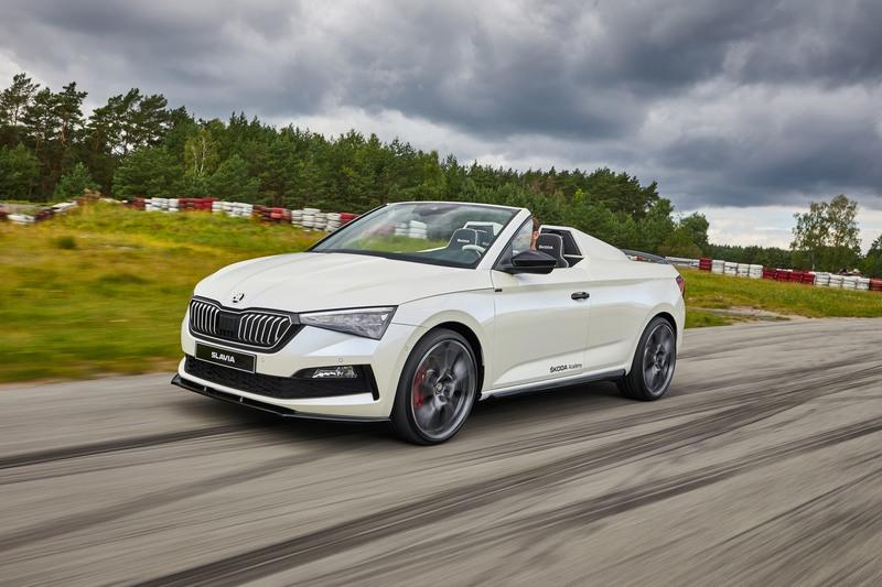 Skoda Slavia Concept - One Affordable Roadster We'd Love to See Come to Life Exterior - image 922665