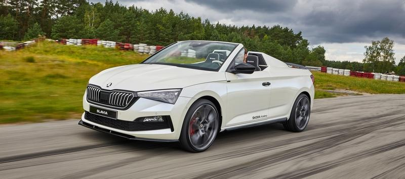 Skoda Slavia Concept - One Affordable Roadster We'd Love to See Come to Life