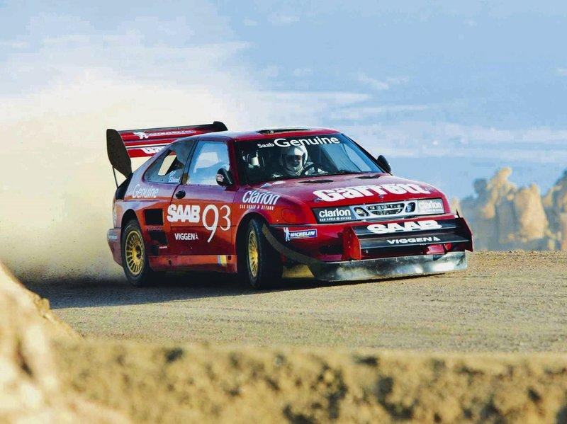 Take a Look Back at Per Eklund's 850-Horsepower Saab 9-3 As it Makes Its Record-Setting Pikes Peak Run