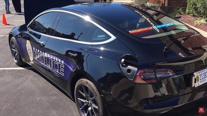 Tesla Model 3 Police Cars Turn Out To Be An Awesome Cost-Cutting Investment