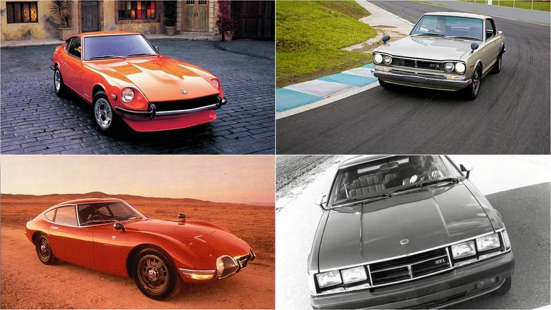 The 10 Most Important Classic Japanese Cars