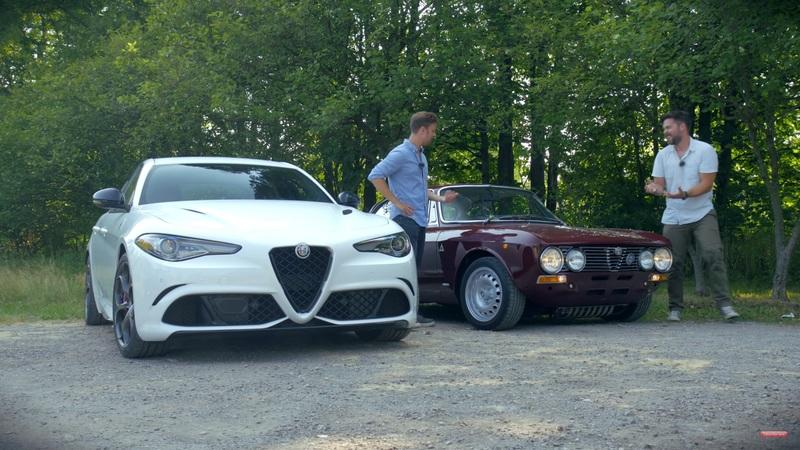 The 2020 Alfa Romeo Giulia Quadrifoglio Isn't So Pure Next to a 1973 Alfa Romeo GTV
