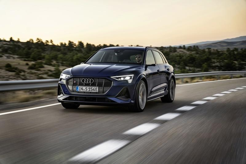 The Audi E-Tron S Is Still Heavy, But It Makes Up For That Weight with Ample Amounts of Power and Torque
