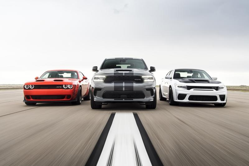 Future Dodge SRT Hellcat Models Will Be Electrified