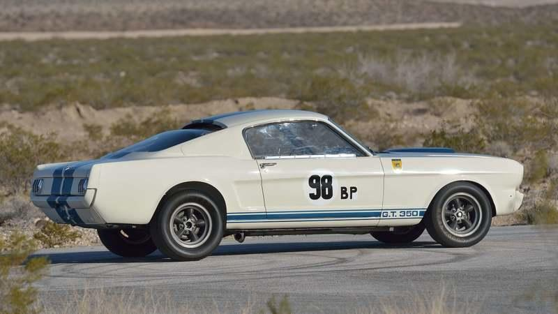 Ken Miles' Mustang Shelby GT350R Becomes The Most Expensive Mustang Ever Sold At Auction
