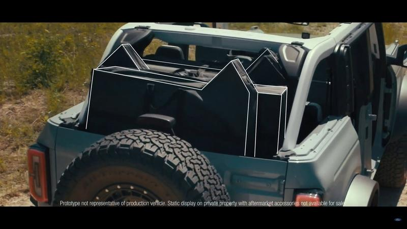 The Ford Bronco's Door Storage Solution Sets the Standard for Off-Road Vehicles