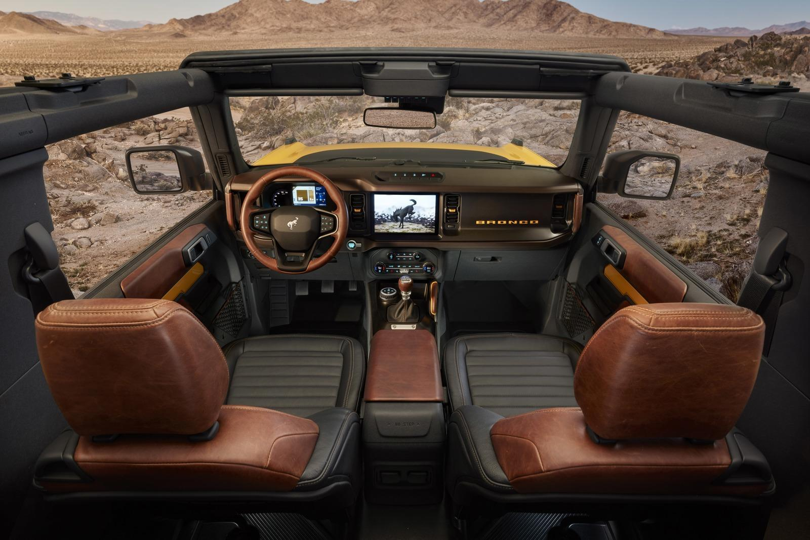 Is the 2021 Ford Bronco's Interior Waterproof?