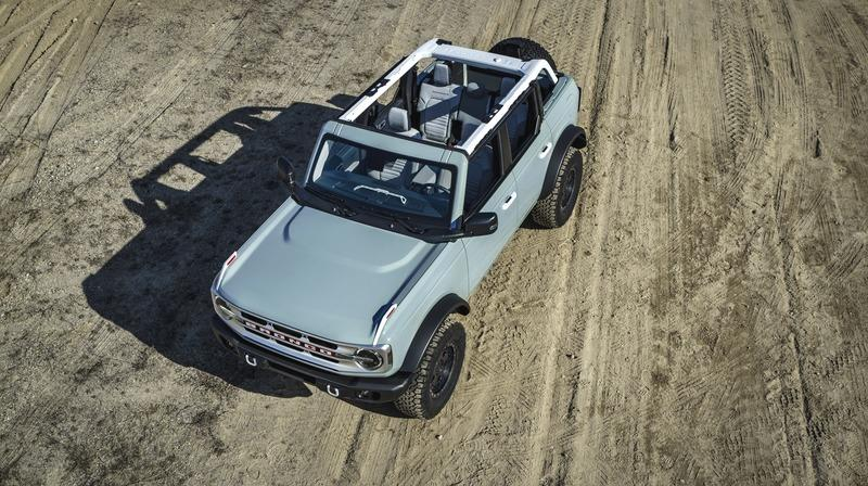 Would You Have Preferred The Bronco With A Foldable Windshield? Exterior High Resolution - image 919929