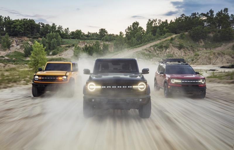 Comparing the 2021 Ford Bronco Family - Which is the Right Model For You?