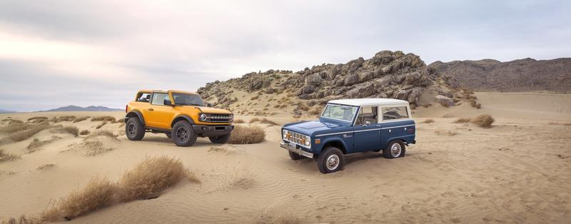 Ford Looked to its Past With Modern Tech to Make the 2021 Ford Bronco