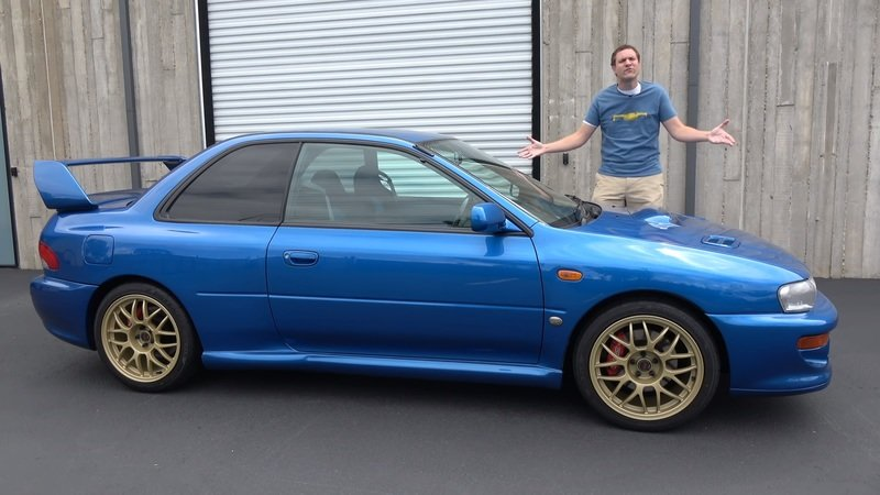 The Subaru Impreza 22B is THE Legend Among Legends