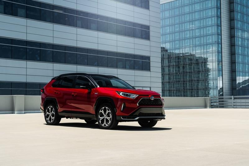 The Toyota RAV4 Prime Is Somehow Quicker Than the 2021 Toyota Supra 2.0