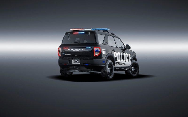 This 2021 Ford Bronco Police Interceptor Is Ready to Protect and Serve You Off-Road - image 925808