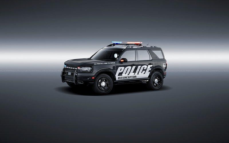 This 2021 Ford Bronco Police Interceptor Is Ready to Protect and Serve You Off-Road - image 925807